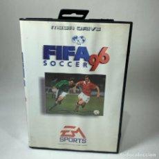Videojogos e Consolas: VIDEOJUEGO SEGA - MEGA DRIVE - FIFA 96 SOCCER + CAJA. Lote 240909845