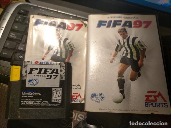 JUEGO SEGA MEGA DRIVE FUTBOL FIFA 97 SPORTS MEGADRIVE (Juguetes - Videojuegos y Consolas - Sega - MegaDrive)