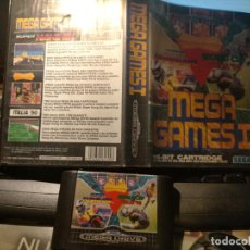 Videojuegos y Consolas: JUEGO CONSOLA, SEGA, MEGA DRIVE, MEGA GAMES I, WORLD CUP ITALIA 90, SUPER HANG ON, 1992. Lote 241075760