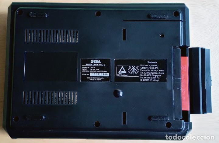 Videojuegos y Consolas: Consola / Sega Mega Drive 1 Megadrive 16 bits PAL 1990 (Con 2 Mandos, Scart para TV y 6 Juegos) - Foto 4 - 241208885