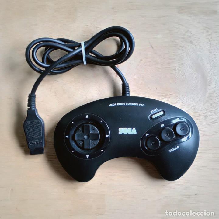 Videojuegos y Consolas: Consola / Sega Mega Drive 1 Megadrive 16 bits PAL 1990 (Con 2 Mandos, Scart para TV y 6 Juegos) - Foto 8 - 241208885