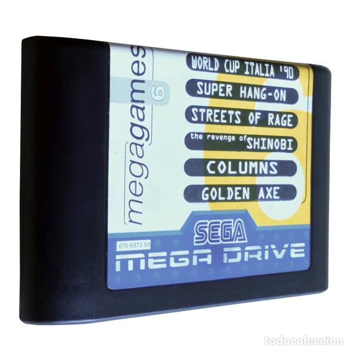 Videojuegos y Consolas: Consola / Sega Mega Drive 1 Megadrive 16 bits PAL 1990 (Con 2 Mandos, Scart para TV y 6 Juegos) - Foto 10 - 241208885