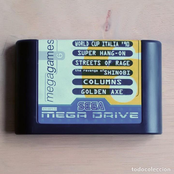 Videojuegos y Consolas: Consola / Sega Mega Drive 1 Megadrive 16 bits PAL 1990 (Con 2 Mandos, Scart para TV y 6 Juegos) - Foto 11 - 241208885