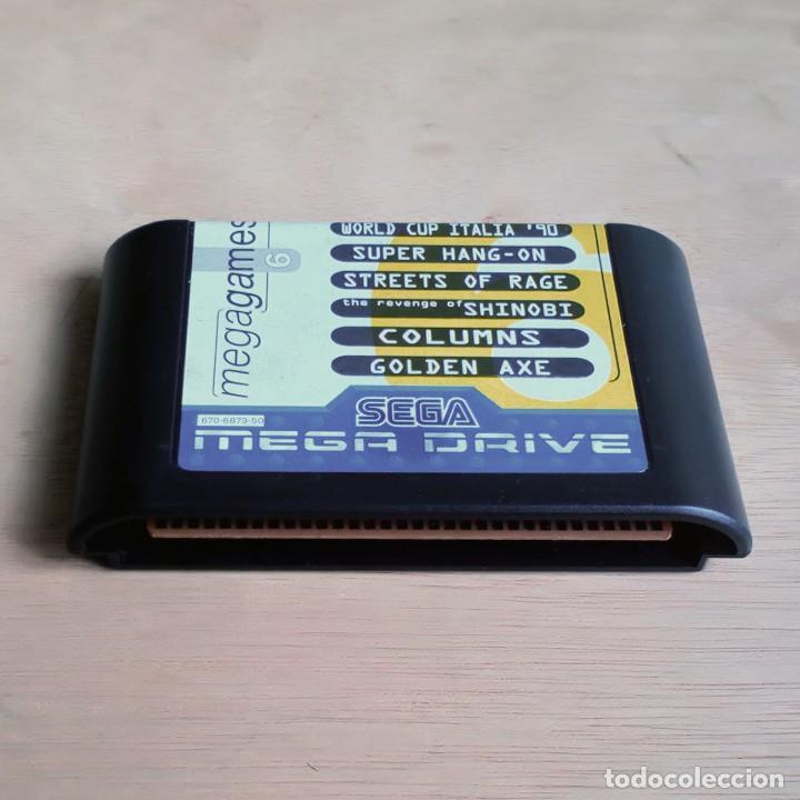 Videojuegos y Consolas: Consola / Sega Mega Drive 1 Megadrive 16 bits PAL 1990 (Con 2 Mandos, Scart para TV y 6 Juegos) - Foto 13 - 241208885