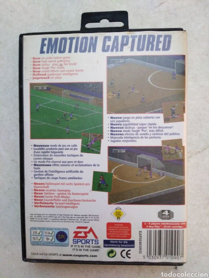Videojuegos y Consolas: Fifa 97,sega mega drive - Foto 2 - 241536090