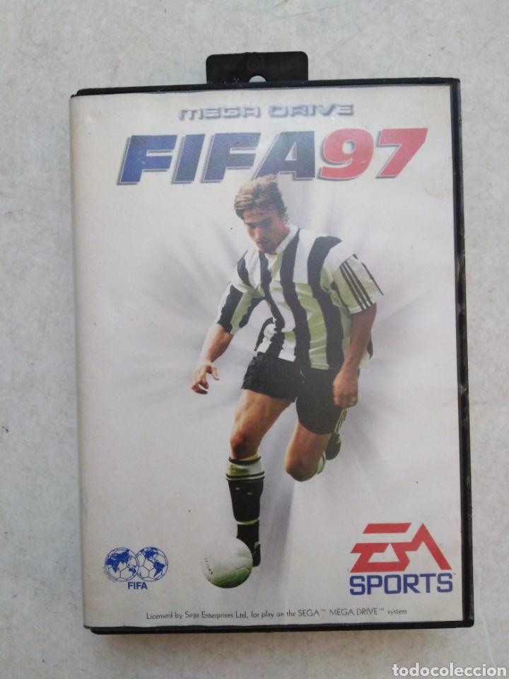 FIFA 97,SEGA MEGA DRIVE (Juguetes - Videojuegos y Consolas - Sega - MegaDrive)