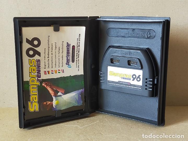 Videojuegos y Consolas: JUEGO SEGA MEGADRIVE MEGA DRIVE: SAMPRAS 96 TENNIS --- COMPLETO. - Foto 2 - 241698190