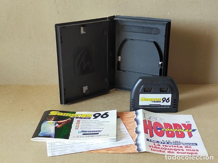 Videojuegos y Consolas: JUEGO SEGA MEGADRIVE MEGA DRIVE: SAMPRAS 96 TENNIS --- COMPLETO. - Foto 3 - 241698190