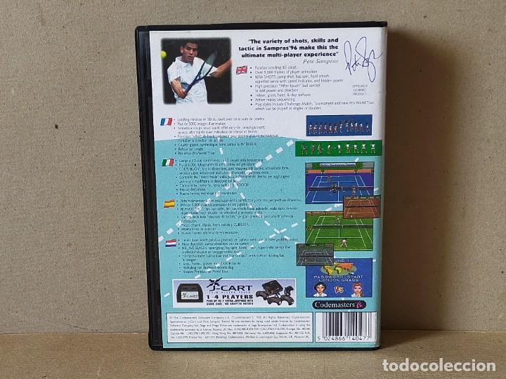 Videojuegos y Consolas: JUEGO SEGA MEGADRIVE MEGA DRIVE: SAMPRAS 96 TENNIS --- COMPLETO. - Foto 4 - 241698190