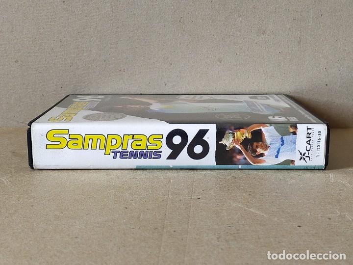 Videojuegos y Consolas: JUEGO SEGA MEGADRIVE MEGA DRIVE: SAMPRAS 96 TENNIS --- COMPLETO. - Foto 5 - 241698190