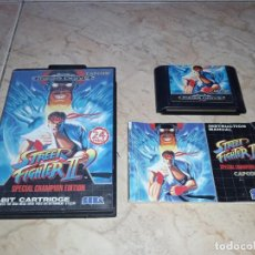 Videojuegos y Consolas: JUEGO STREET FIGHTER II 2 CHAMPION EDITION SEGA MEGADRIVE. Lote 253066900