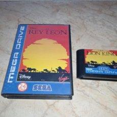 Videojuegos y Consolas: JUEGO EL REY LEON SEGA MEGADRIVE MEGA DRIVE. Lote 241773790