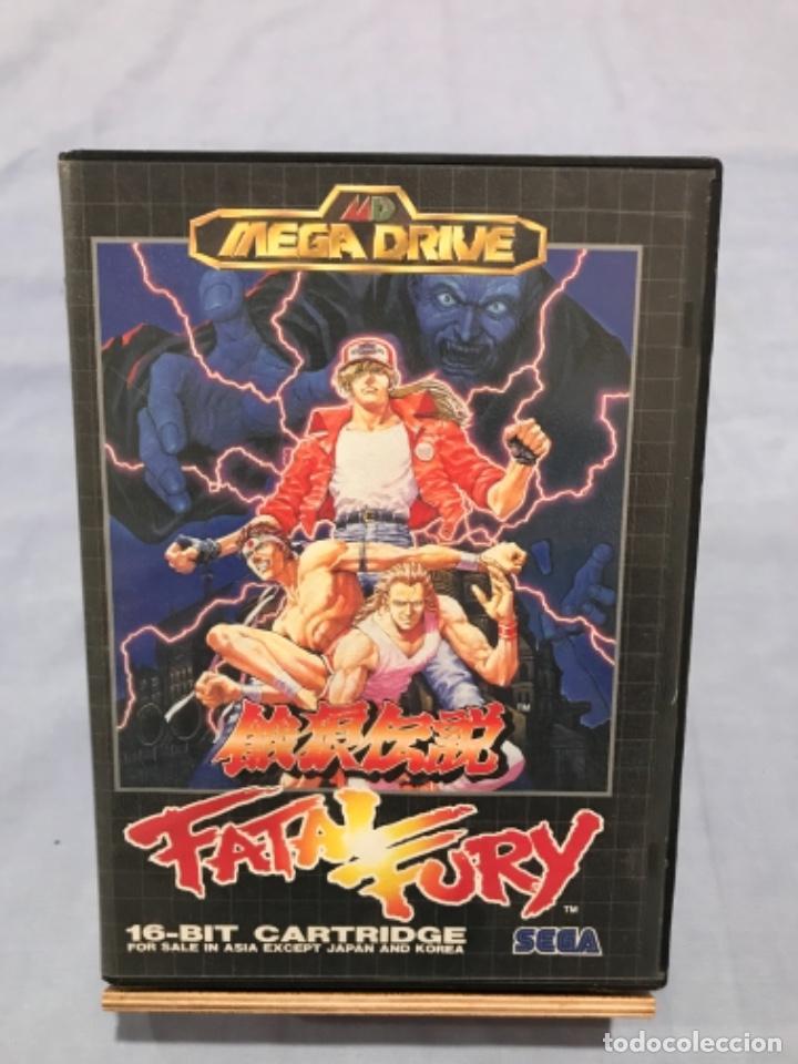 FATAL FURY - MEGA DRIVE SEGA (Juguetes - Videojuegos y Consolas - Sega - MegaDrive)