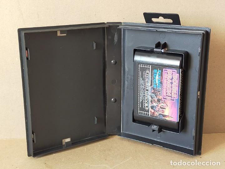 Videojuegos y Consolas: JUEGO SEGA MEGADRIVE MEGA DRIVE: DOUBLE DRAGON 3 THE ARCADE GAME --- SIN INSTRUCCIONES - Foto 2 - 243625700