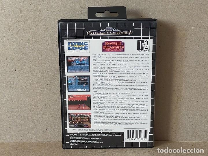 Videojuegos y Consolas: JUEGO SEGA MEGADRIVE MEGA DRIVE: DOUBLE DRAGON 3 THE ARCADE GAME --- SIN INSTRUCCIONES - Foto 4 - 243625700