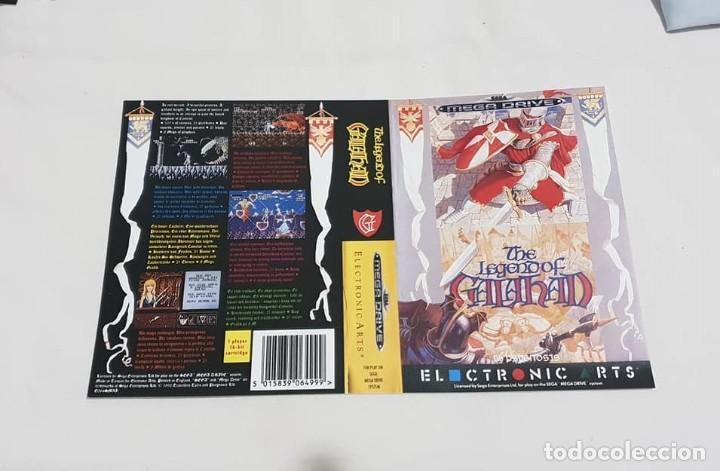 """CARÁTULA DE REEMPLAZO ·THE LEGEND OF GALAHAD"""" SEGA MEGADRIVE (Juguetes - Videojuegos y Consolas - Sega - MegaDrive)"""