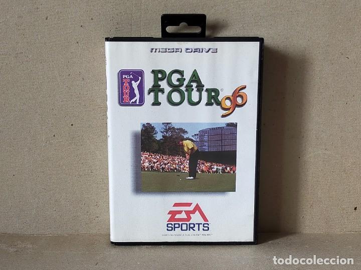 JUEGO SEGA MEGADRIVE MEGA DRIVE: PGA TOUR 96 --- COMPLETO. (Juguetes - Videojuegos y Consolas - Sega - MegaDrive)