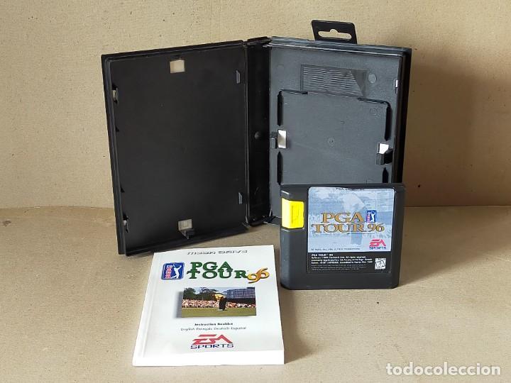 Videojuegos y Consolas: JUEGO SEGA MEGADRIVE MEGA DRIVE: PGA TOUR 96 --- COMPLETO. - Foto 3 - 244204565