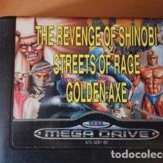 Videojuegos y Consolas: MEGA GAMES 2 SEGA MEGADRIVE. Lote 244483890