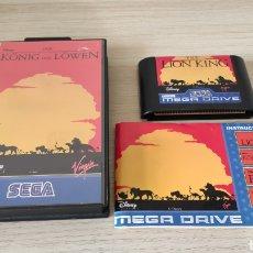 Videojuegos y Consolas: EL REY LEON MEGADRIVE. Lote 244492860