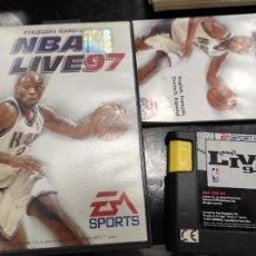 Videojuegos y Consolas: JUEGO SEGA MEGADRIVE MEGA DRIVE: NBA LIVE 97 --- COMPLETO.. Lote 244518535