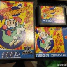 Videojuegos y Consolas: SEGA MEGA DRIVE MEGA BOMBERMAN COMPLETO. Lote 244518665
