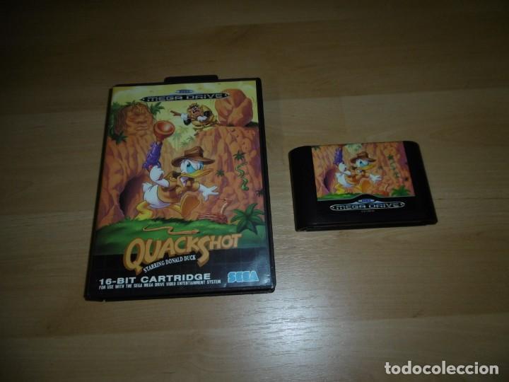 SEGA MEGADRIVE SMD QUACKSHOT STARRING DONALD DUCK (Juguetes - Videojuegos y Consolas - Sega - MegaDrive)