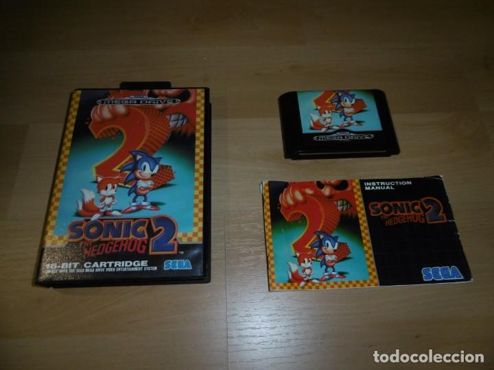 SEGA MEGADRIVE SMD SONIC 2. COMPLETO CON CAJA Y MANUAL. (Juguetes - Videojuegos y Consolas - Sega - MegaDrive)