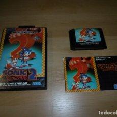 Videojuegos y Consolas: SEGA MEGADRIVE SMD SONIC 2. COMPLETO CON CAJA Y MANUAL.. Lote 244554615