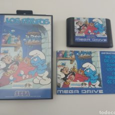 Videojuegos y Consolas: LOS PITUFOS MEGADRIVE SEGA MEGA DRIVE PAL ESP. Lote 244782125