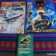 Videojuegos y Consolas: REVISTA MEGA SEGA 6 CON SUPLEMENTO STREET FIGHTER II Y JURASSIC PARK PARQUE JURÁSICO. 1993. RARA.. Lote 244796060