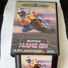 Videojuegos y Consolas: SUPER HANG-ON - SEGA MEGA DRIVE COMPLETO PAL ESPAÑA. 1990. Lote 244883525