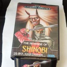 Videojuegos y Consolas: SHINOBI, THE REVENGE OF - SEGA MEGA DRIVE COMPLETO PAL ESPAÑA. 1990. Lote 244884280
