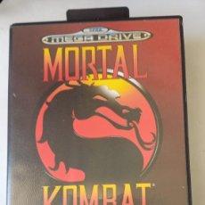 Videojuegos y Consolas: MORTAL KOMBAT - SEGA MEGA DRIVE SIN MANUAL PAL ESPAÑA. ARENA 1992. Lote 244894095