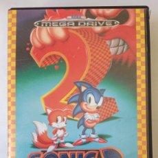 Videojuegos y Consolas: SONIC 2 THE HEDGEHOG - SEGA MEGA DRIVE PAL ESPAÑA. 1992. Lote 244894935