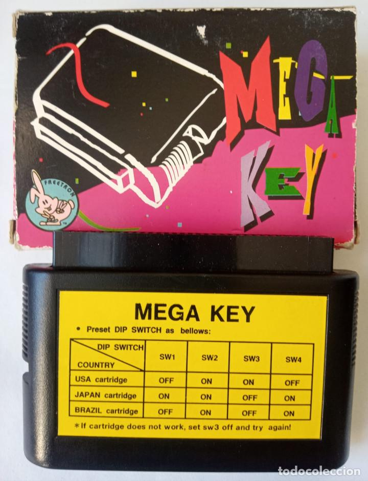 MEGA DRIVE MEGA KEY GENESIS ADAPTADOR CONVERSOR DE REALTEC (Juguetes - Videojuegos y Consolas - Sega - MegaDrive)