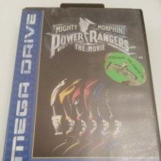 Videojuegos y Consolas: POWER RANGERS MIGHTY MORPHIN THE MOVIE MEGADRIVE - CAJA E INSTRUCCIONES. Lote 245119265