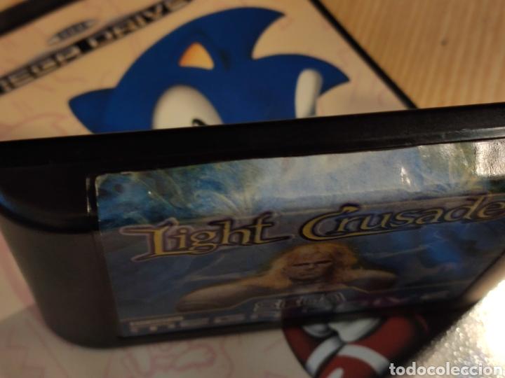 Videojuegos y Consolas: lote LIGHT CRUSADER en la caja del SONIC - juego SEGA MEGADRIVE mega drive - Foto 2 - 245171940