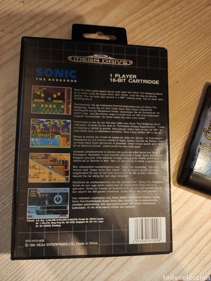 Videojuegos y Consolas: lote LIGHT CRUSADER en la caja del SONIC - juego SEGA MEGADRIVE mega drive - Foto 5 - 245171940