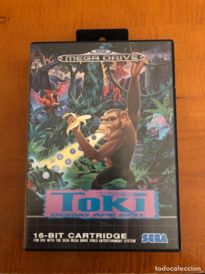 JUEGO MEGADRIVE TOKI (Juguetes - Videojuegos y Consolas - Sega - MegaDrive)