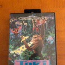 Videojuegos y Consolas: JUEGO MEGADRIVE TOKI. Lote 245375270