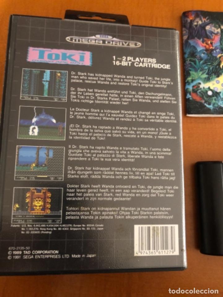 Videojuegos y Consolas: Juego megadrive Toki - Foto 3 - 245375270