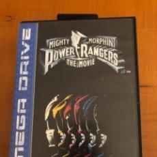 Videojuegos y Consolas: JUEGO POWER RANGERS MEGA DRIVE. Lote 245377415