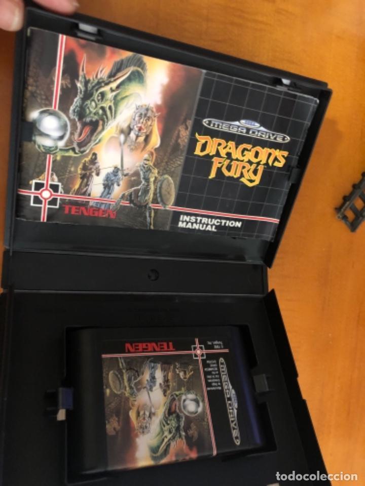 Videojuegos y Consolas: Antiguo juego Dragons Fury mega Drive - Foto 3 - 245385420