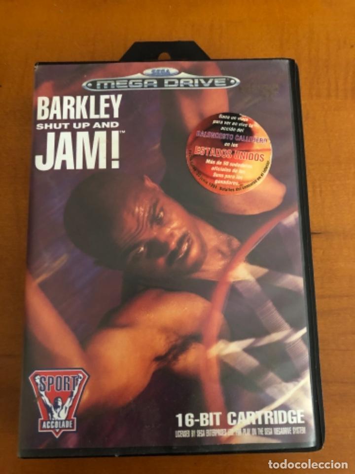 ANTIGUO JUEGO MEGA DRIVE BARKLEY SHUT UP AND JAM! (Juguetes - Videojuegos y Consolas - Sega - MegaDrive)