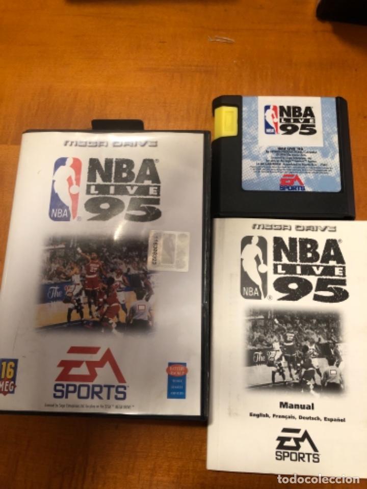 JUEGO NBA LIVE 95 (Juguetes - Videojuegos y Consolas - Sega - MegaDrive)