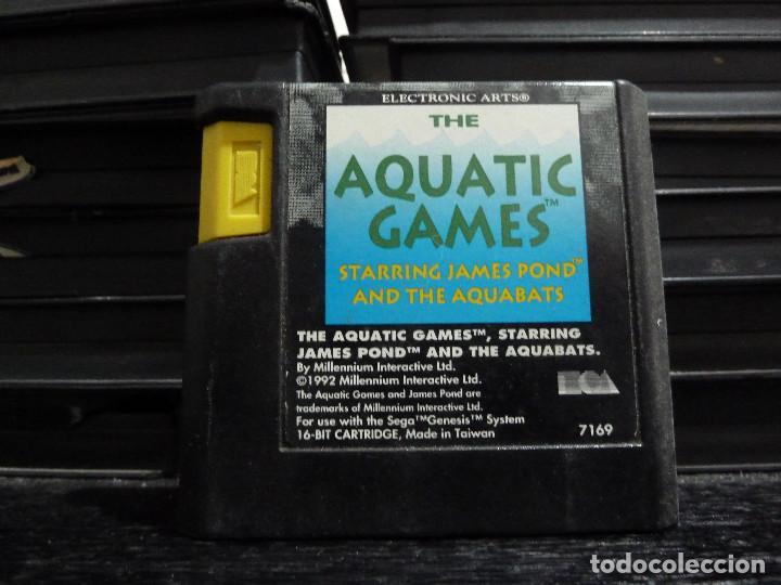 JUEGO DE MEGADRIVE AQUATIC GAMES (Juguetes - Videojuegos y Consolas - Sega - MegaDrive)