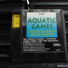 Videojuegos y Consolas: JUEGO DE MEGADRIVE AQUATIC GAMES. Lote 245968845