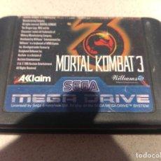 Videojuegos y Consolas: MORTAL KOMBAT 3 SEGA MEGADRIVE MD PAL-EUROPA 100% ORIGINAL. Lote 246255600