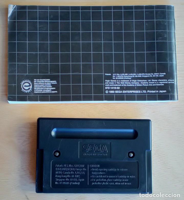 Videojuegos y Consolas: Aladdin / Juego Sega Mega Drive Megadrive / PAL / Disney Virgin 1993 - Foto 5 - 189367432